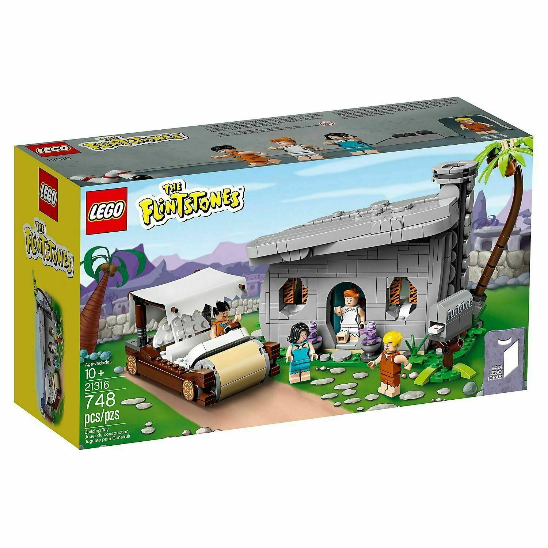 Lego ® 21316 ideas-Los Picapiedra-Nuevo Sellado de fábrica -