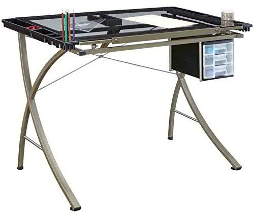 Drawing Sketching Drafting Table Art Craft Station Furniture Desk Drawer  Glass | EBay