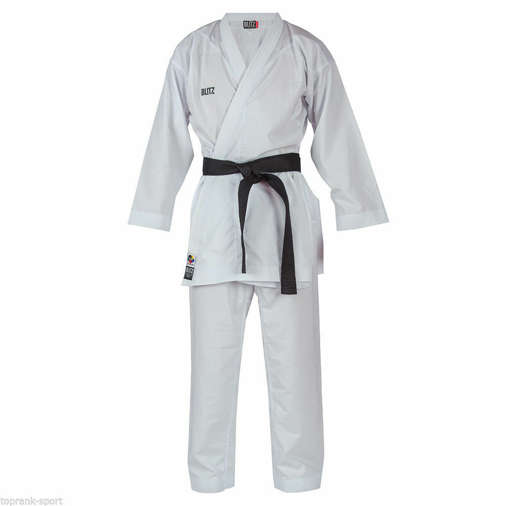 Blitz Adult Competition Lite WKF Approved Kumite Karate Suit    Gi   Uniform  all products get up to 34% off