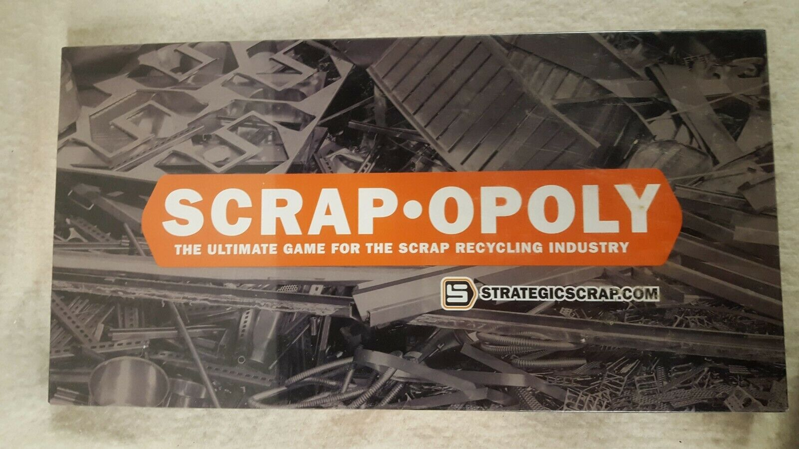 Scrap Opoly Scrapopoly Monopoly Game Recycling New NIB Sealed