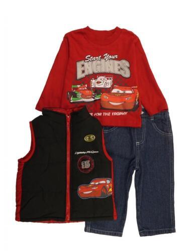 Disney Toddler Boys Cars 3pc Set Size 2T 3T 4T 5T