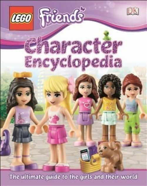 Lego Friends Character Encyclopedia (Library Edition), Saunders, Catherine   Har