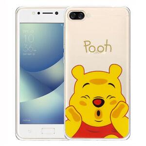 Silikon Handy Schutzhülle Cartoon Winnie the Pooh Für Asus Zenfone 4 Max ZC520KL