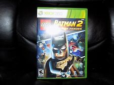 LEGO Batman 2: DC Super Heroes (Microsoft Xbox 360, 2012) EUC