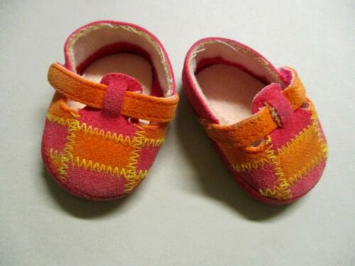 American Girl Bitty Baby Twins 2001 Leaf Shoes only to Fall Leaf Outfit