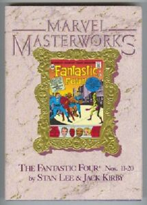 MARVEL-MASTERWORKS-6-FANTASTIC-FOUR-11-20-DR-DOOM-1988-HC-1st-THING-VS-HULK