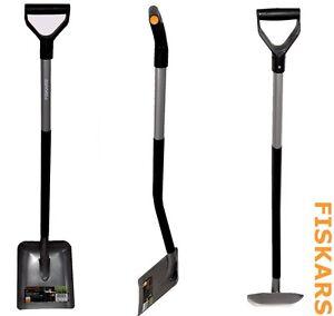 fiskars schaufel ergonomic1001579 spaten schippe gartenschaufel ebay. Black Bedroom Furniture Sets. Home Design Ideas