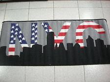 Tappeto antiscivolo New York city color nero cm 57x180 color rosso blu