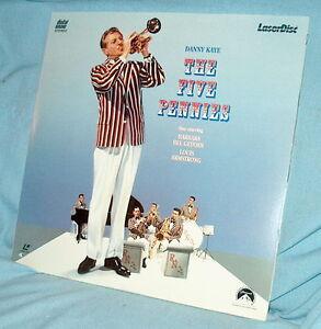 LD-laserdisc-THE-FIVE-PENNIES-Danny-Kaye-Lousi-Armstrong-Barbara-Bel-Geddes