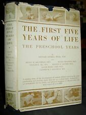 The First Five Years Of Life: Guide To Study Of The Preschool Child, Development