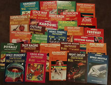 28 Retrò ATARI VCS 2600 POSTER A4 dimensioni SPACE INVADERS, ASTEROIDS ecc.