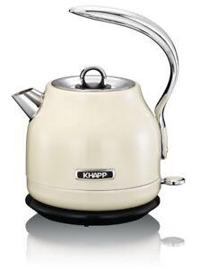 KHAPP Retro-Design Wasserkocher ICONS Teekocher Tee-Kocher Teekessel ...