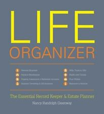 Life Organizer: The Essential Record Keeper and Estate Planner by Greenway, Nan