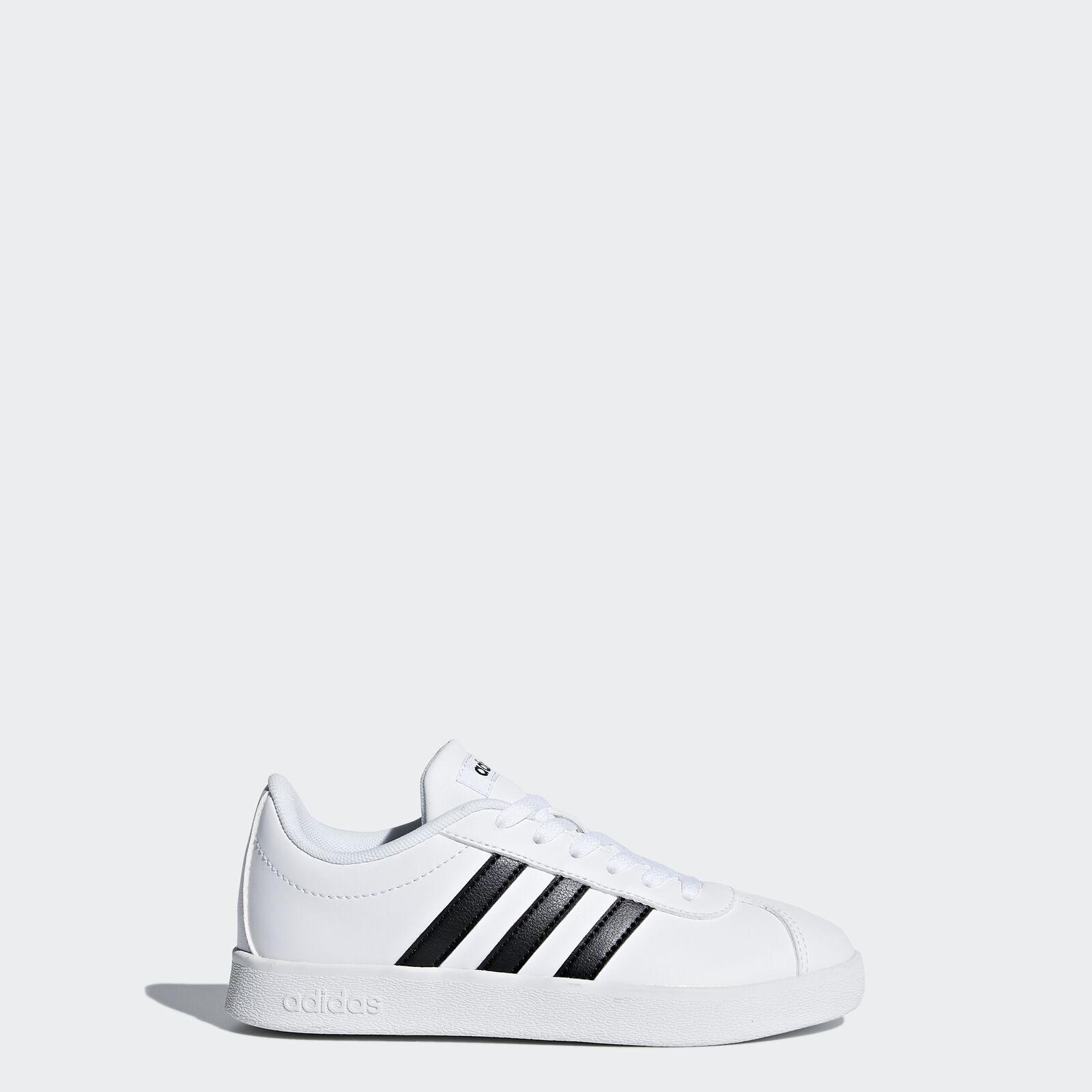 adidas Vl Court kids Unisex Sneakers, Black - FBV41