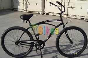 Micargi Touch Black Men S 26 Beach Cruiser Bike Ebay