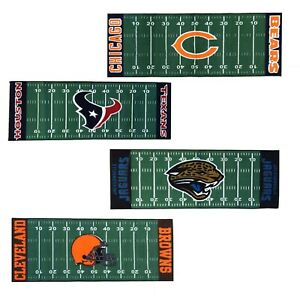 New Nfl Football Team Runner Rug Sports Logo Floor Decor Long