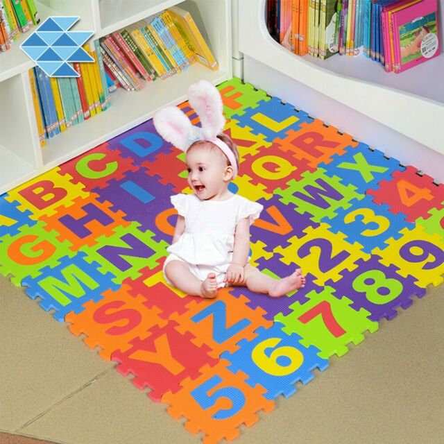 Alphabet Numbers Rubber Eva Foam Puzzle
