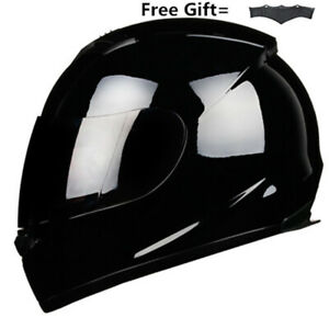 Full-Face-Motorcycle-Helmet-w-Smoke-Sun-Visor-Motocross-Racing-S-M-L-XL-XXL