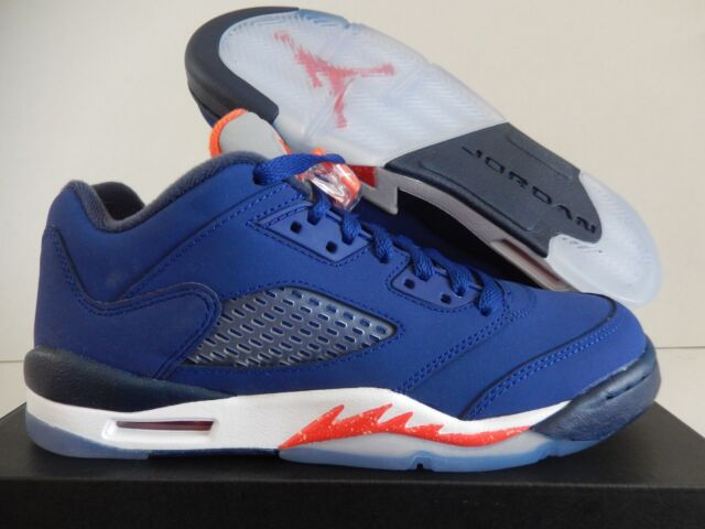 7c42ea11ed7ef4 Nike Air Jordan 5 Retro Low GS Kids Youth Boys Girls Basketball Shoes  314338-417 5.5 Y