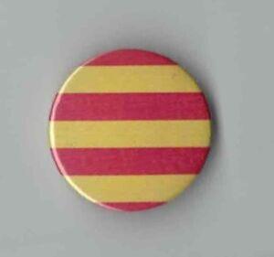 Catalan flag - Barcelona fag 25mm button badge