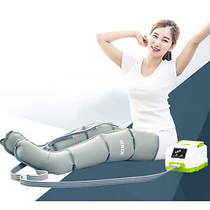 Air Compression Leg Wraps >> Unix UAM-6000 Air Miracle2 Air Compression Health Massager (Machine + Leg Cuff) | eBay
