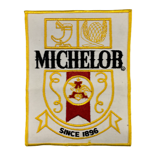 """Vintage Michelob Beer Iron On Patch 6"""" x 7.5"""""""