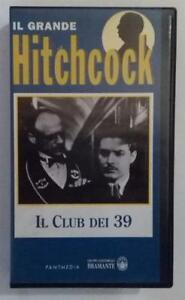 Hitchcock VHS Il club dei 39 - Italia - Hitchcock VHS Il club dei 39 - Italia