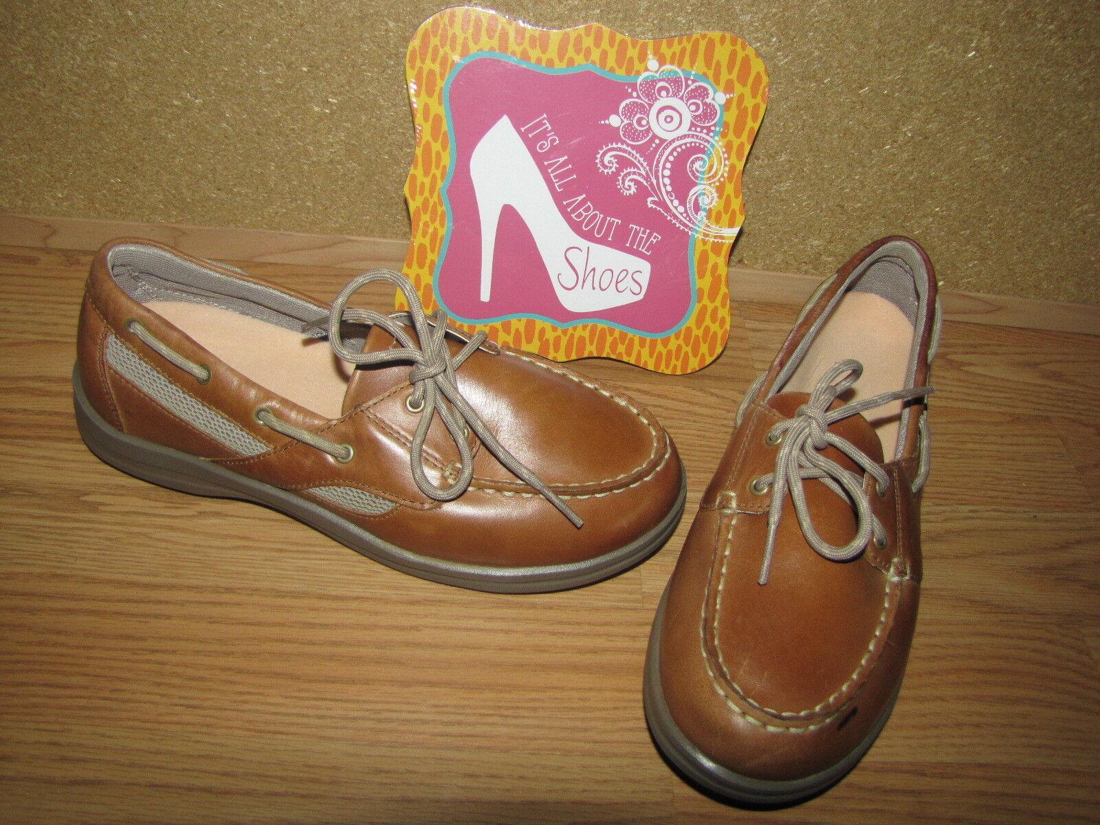 Apex 'pétalos de Bronceado Zapatos Náuticos diabéticos Terapéutica - 8W 8W - europeo 38 Usado En Excelente Condición b90a9c