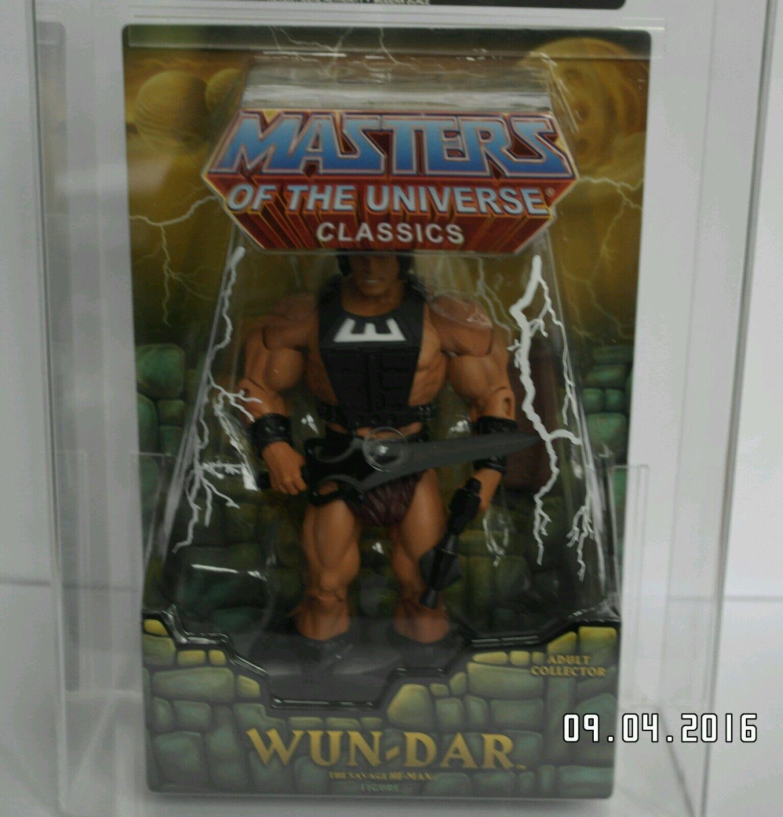 He Man Amos del Universo Classics Wun-dar figura Amos Del Universo Wundar graduada AFA90