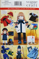 Vogue 9442 Or 543 18 Doll Clothes Pattern Girl Very Easy Artist