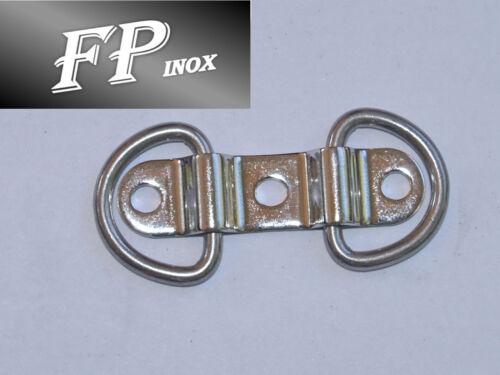 Anneau rabattable 47x12mm inox Ref 3986701 Cadène Double