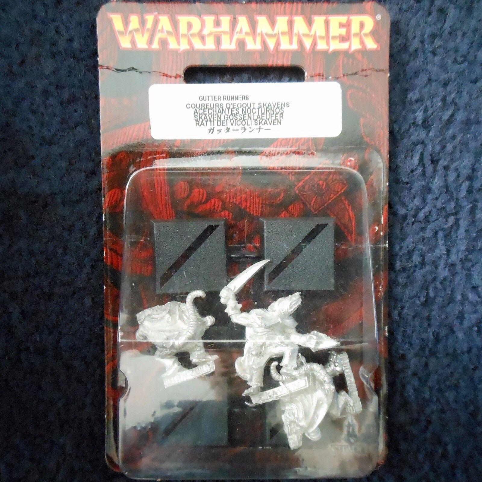 2001 Skaven Gutter Runner G2 Games Workshop Eshin Night Warhammer Mordheim MIB