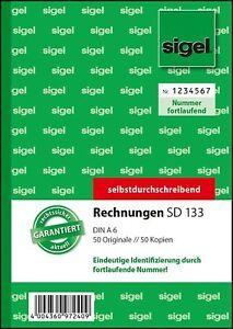 5-x-sigel-Formularbuch-034-Rechnung-034-fortlaufende-Nummerierung-SD133