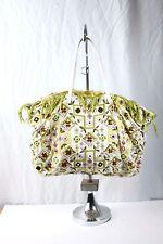 BEAUTIFUL! FENDI Embroidered Beaded Large Tote mirrored fringe eTHNIC bag EUC!