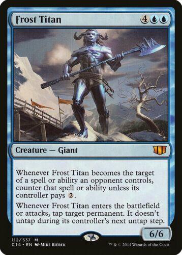 Frost Titan Commander 2014 MINT Blue Mythic Rare MAGIC GATHERING CARD ABUGames
