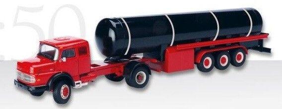 CON1055 - Camion Camion Camion MERCEDES LS 1624 avec remorque Citerne de gaz  - 1 50 301259