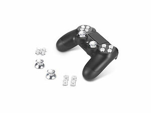 Supremery-Playstation-4-Dualshock-4-Aluminium-Buttons-Caps-Thumbsticks