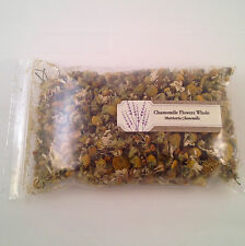1 oz. Chamomile Flowers Whole (Matricaria Chamomilla)  28 g /.063 lb  Dried Tea