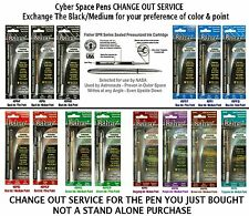 Change Out SERVICE - Exchange Ink Cartridge To Your Choice of Color & Point