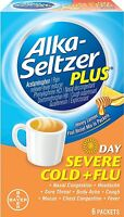 Alka-seltzer Plus Severe Cold And Flu Day Powder, 6 Count