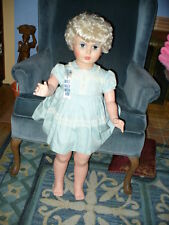 """35"""" HUGE LIFE SIZE VINTAGE PATTI PLAYPAL WALKING DOLL ROOTED HAIR - AE"""