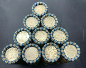 Liberty Nickels Rolls Full Date Liberty V Nickels 1883-1913 Old US Mixed Date