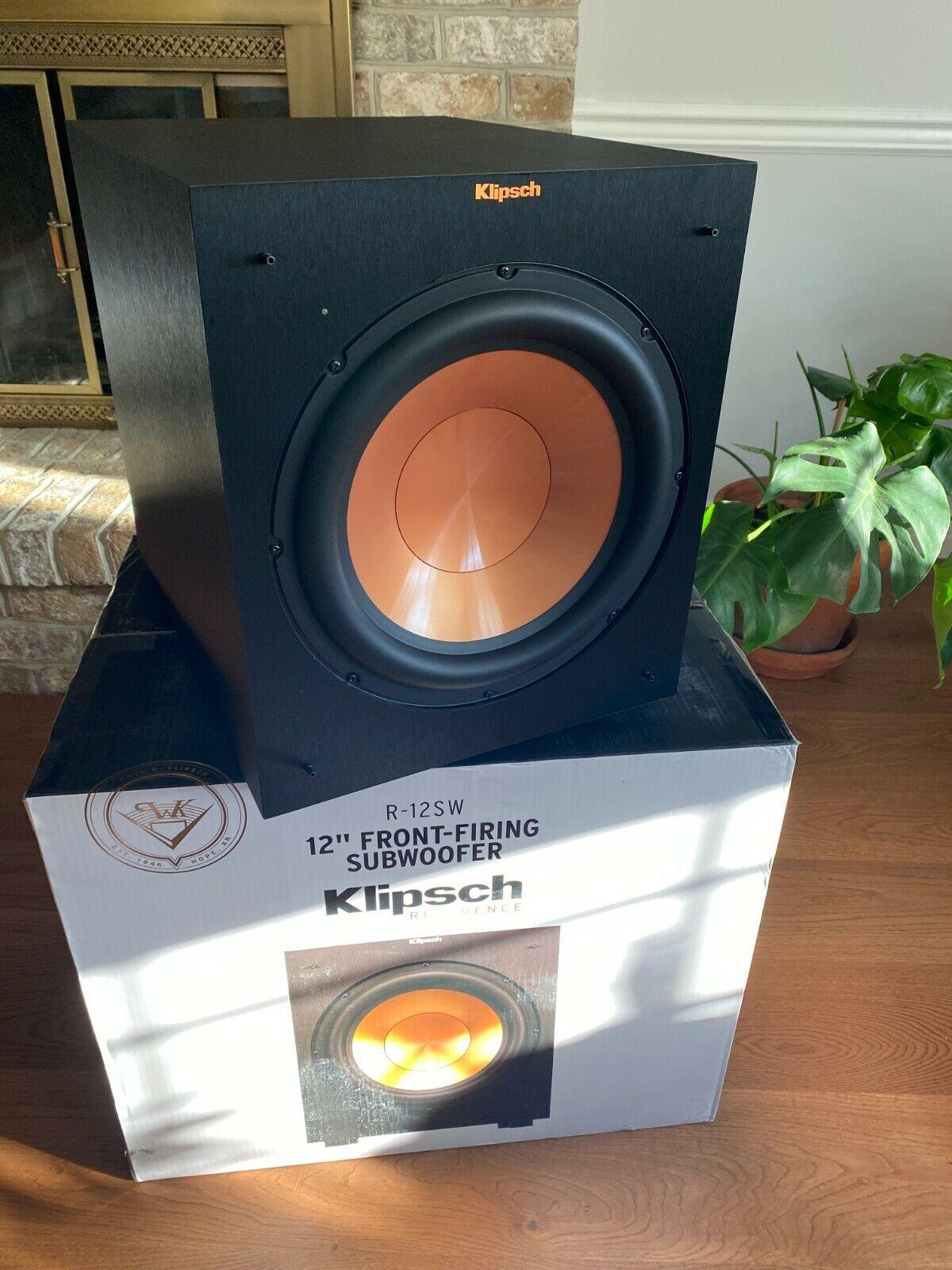 Klipsch R-12SW Subwoofer Audio & Home Theatre Electronics njordrecycle.com