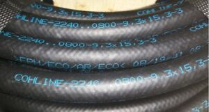 9.3mm Cohline DIN 73379 Type 3E Ethanol Tolerant Bio Safe Fuel Hose SAE J30 R9