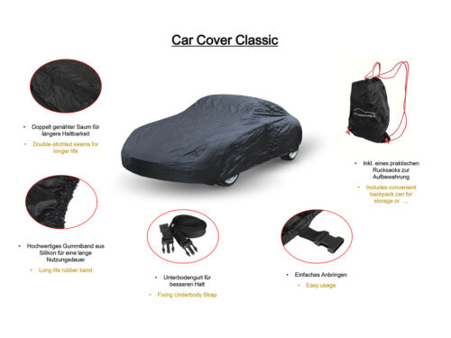 Car cover cubierta de coche para Ford Mustang V Shelby gt500