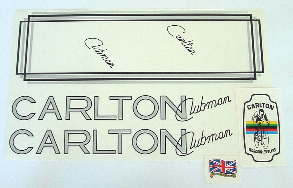 Carlton Clubman set of decals.