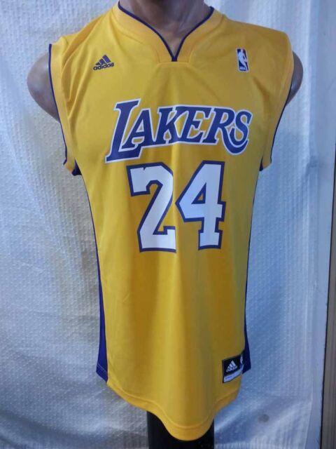 Adidas NBA Jersey LOS ANGELES Lakers Kobe Bryant Gold sz SMALL