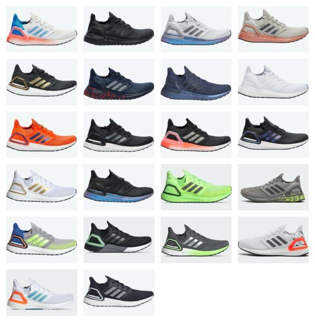 Adidas Ultra Boost 20 Ultraboost 20 Multiple Colors Mens Sz 8-13 Running Shoes
