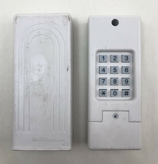Liftmaster Universal Wireless Keypad G387lm Garage Door Opener Ebay