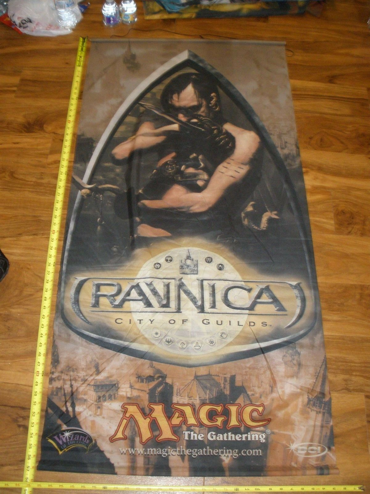 MTG Magic Ravnica    City of Guilds Cloth Poster Hanging Store Display db1075
